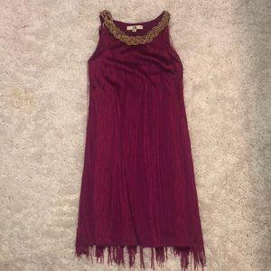 Cocktail fringe dress